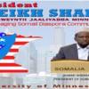 Sheikh Shariif oo la hadlaya Soomaalida Washington iyo Minnesota