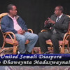 Minneaplis: Ururka United Somali Diaspora oo Caddeeyey Mowqifkooda in aysan taageersanayn Sheikh Shariif, soona dhaweynayn…