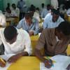 130 arday oo dhigata Jaamacadda Bariga Afrika xarunteeda Garoowe oo u bilaabmay imtixaanka samisterka 1aad.