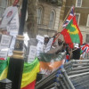 UK: Mudaharaad Looga soo horjeedo Zenawi oo kadhacay London