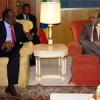 Aadan Madoobe oo Addis Ababa kula Kulmay Meles Zenawi, Xilli Xildhibaanada Baarlamaanku Sheegeen in Waqtigii Ka Dhammaday Guddoonka Baarlamaanka..