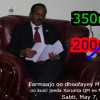 Farmaajo ma waxa uu Qarammada Midoobey u gudbin doonaa in Xuduudda Badda Soomaaliya ay tahay 350 mayl, mase 12 mayl?