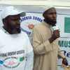 Wafdigii ka socday Muslimiinta Zaambiya oo Deeq lacag ah ka Qeybiyay Xerada Weyn ee Barakacayaasha Aala-Yaasir Km50