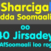 Sharciga Badda Soomaaliyeed oo Af-Soomaali loo rogey 40-sano kabacdi: SomaliTalk.com