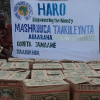 Hayadda Humanitarian African Relief Organization (HARO) oo Deeq gaarsiisay Qoysas ku Dhaqan Degmadda Jamaame