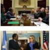 Maxaa ka soo baxay Kulankii Madaweyne Xasan Shiikh iyo Barack Obama