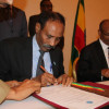 Warsaxaafadeed:: Ra'iisul Wasaarayaasha Soomaaliya iyo Ethiopia oo kulan uu ku dhexmaray Addis Ababa iyo Heshiisyo dhexmaray labada Dawladood.