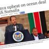 Kenya oo Qarka u saaran in ay Xukuumada Xasan Maxamuud kala wareegto baaxad weyn oo Badda Soomaaliya?