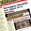 Dagaal u Dhaxeeya Norway iyo Sweden oo ku saabsan Batroolka Soomaaliya, gaar ahaan aagga Laascaanood